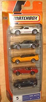 Matchbox MBX Metal - 5 Pack - N9638 - #6 - Fancy Cars by Mattel: Amazon.es: Juguetes y juegos
