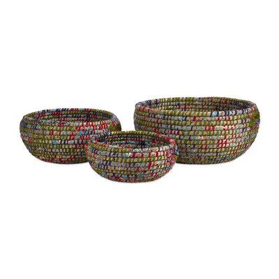 IMAX 84683-3 Curtis Woven Bowls, 3-Pack