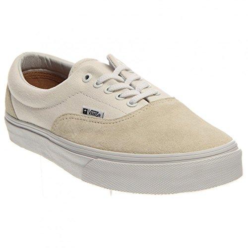 Zapatos de las zapatillas de deporte del patín ERA de las furgonetas - true white
