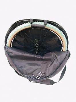 Hapo-G 11204006 - Funda para ruedas de bicicleta, color negro: Amazon.es: Deportes y aire libre