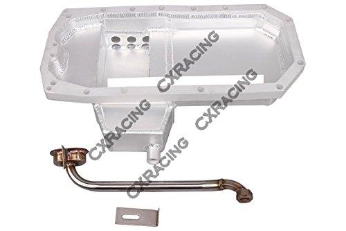CXRacing S13 SR20DET Engine Oil Pan and Pickup For Nissan Datsun 510 Swap SR20