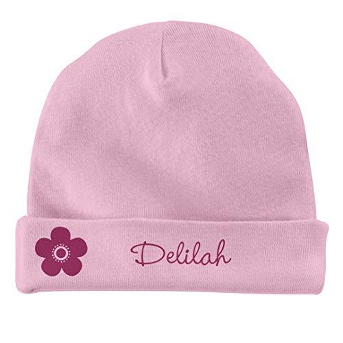 FUNNYSHIRTS.ORG Baby Girl Delilah Flower Hat: Infant Baby - Flowers Delilah
