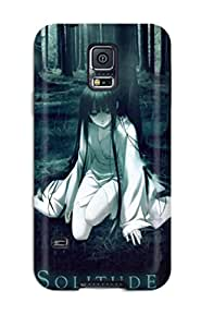 Premium Galaxy S5 Case - Protective Skin - High Quality For Solitude Dark Forest Girl Anime Other