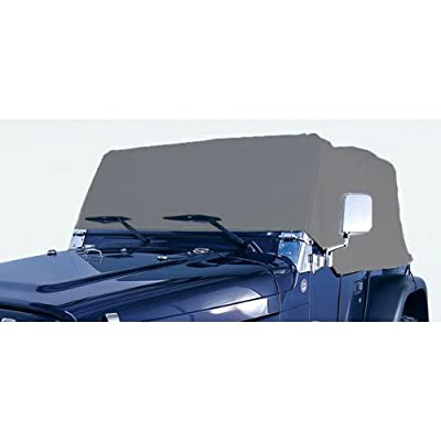 Rugged Ridge 13321.02 Deluxe Cab Cover; Gray, for 76-06 Jeep CJ/Wrangler YJ/TJ: Automotive