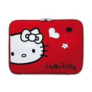 "Port HELLO KITTY - Funda para portátiles 15,6"", color negro"