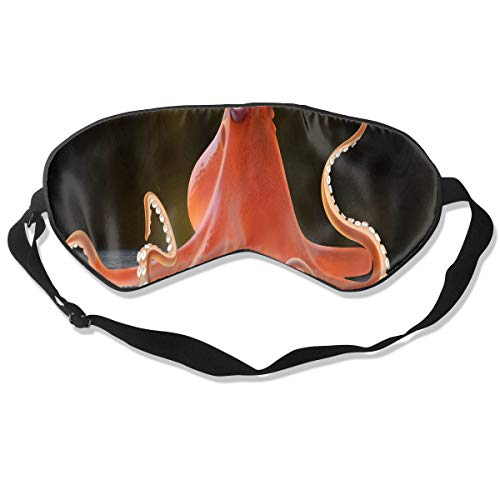 Eye Mask New Finding Octopus Personalized Eyeshade Sleep Mask Soft for Sleeping Travel for Girls]()