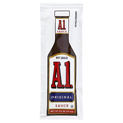 - A.1. Original Steak Sauce Single Serve (0.5 oz Packets, Pack of 200)