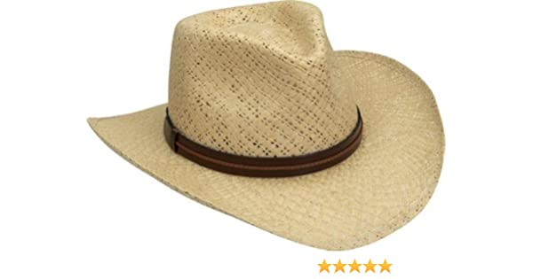 a76d160108664 Amazon.com  Black Creek Men s Toyo Straw Hat - Bc9015 Nat  Clothing