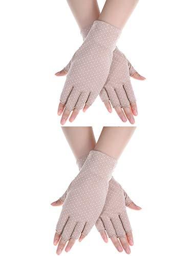 Boao Women Sunscreen Gloves...