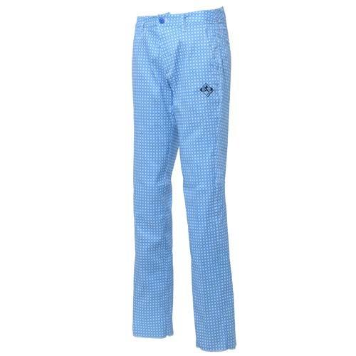 (ナンバー) Number ロングパンツ 85CM 小紋ブルー