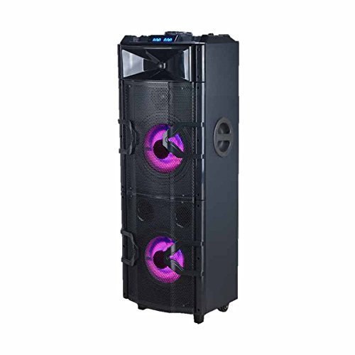 Edison Professional Party System 3000 High Power Portable System with LED Lighting