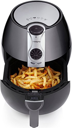 Air Fryer by Cozyna (3.2L) with airfryer cookbooks (over 50 recipes)