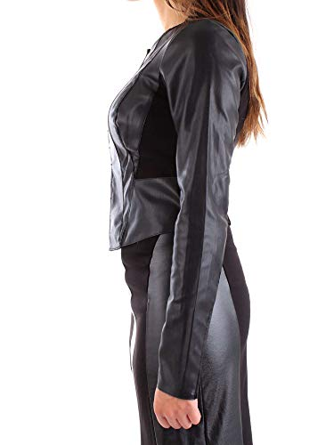 Poliestere Donna Nero Heach Giacca Pga18678gcnero Outerwear Silvian xatSfXwq