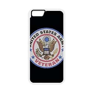 iPhone 6 Plus 5.5 Inch Cell Phone Case White Veteran Badge Nhdvo