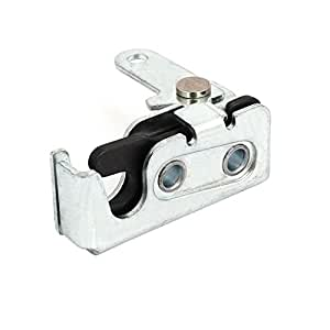 Amazon Com Uxcell Door Panel Metal Concealed Rotary Latch