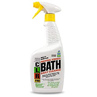 CLR PRO Bath Daily Cleaner, Spray Bottle, 32 Ounce
