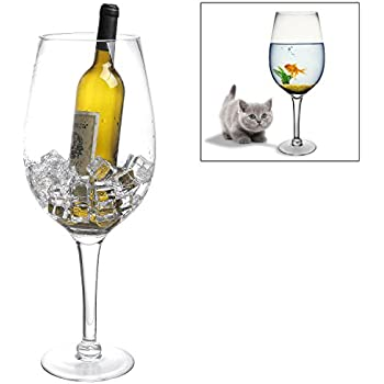 Amazon Kovot Giant Wine Glass Holds A Whole Bottle Of Wine 27
