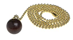 Angelo Brothers 70661  Pull Chain with Walnut Ball