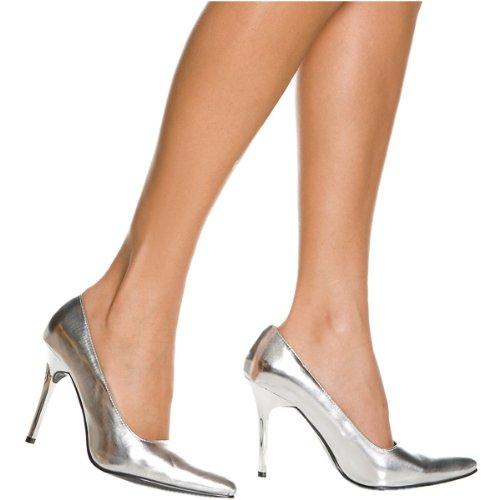 Silver Pump Classic Heel Metallic Highest Women's The wUxga4HqwW