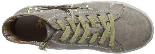 Rieker Kinder Rieker Teens K1987 Mädchen Sneaker Gold (gold 90)