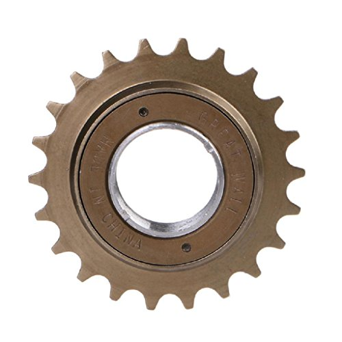 Stebcece BMX Bike Bicycle Race 16/18/20/22/24T Tooth Single Speed Freewheel Sprocket Part ()