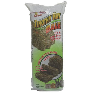Falfa Cravins Timothy Hay Bale Small Animal Treat Size  30 oz.