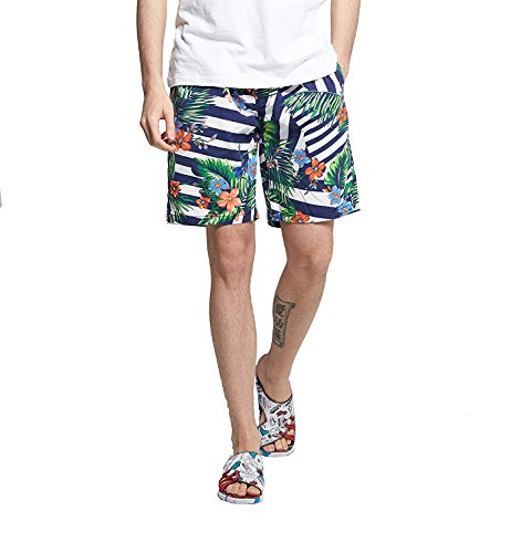 BABY-QQ Fashion Men's Summer Beach Boardshort Shorts Swim Trunks N2359-772_blXXX-Large