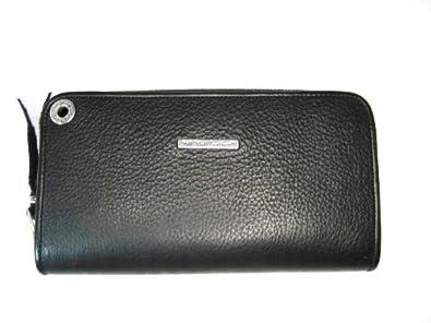 14962e0fb779 Amazon | Bill Wall Leather/ビルウォールレザー WALLETS/ウォレット Zipprer/Fiat Biack Piain  「w945」 | [ビルウォールレザー]Bill Wall Leather | レディース ...