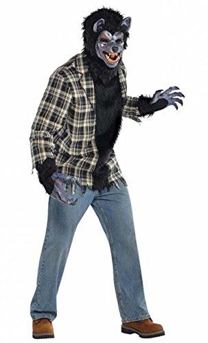 Amscan 844219 Standard Adult Rabid Werewolf Costume,