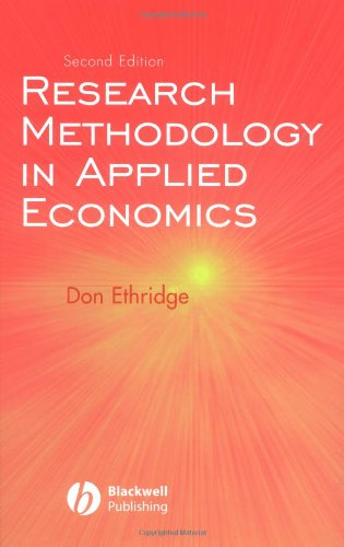 Research Methodology in Applied Economics
