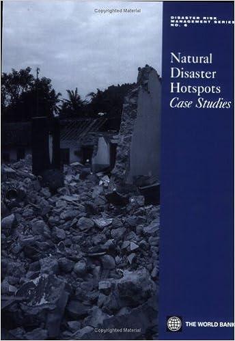 Natural Disaster Hotspots Case Studies (Disaster Risk