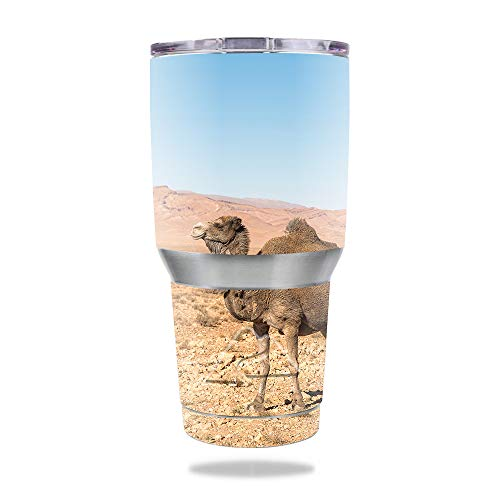 MightySkins Skin for Ozark Trail 30 oz Tumbler - Camel Friend | Protective, Durable, and Unique Vinyl Decal wrap Cover | Easy to Apply, Remove, and Change Styles | Made in The USA