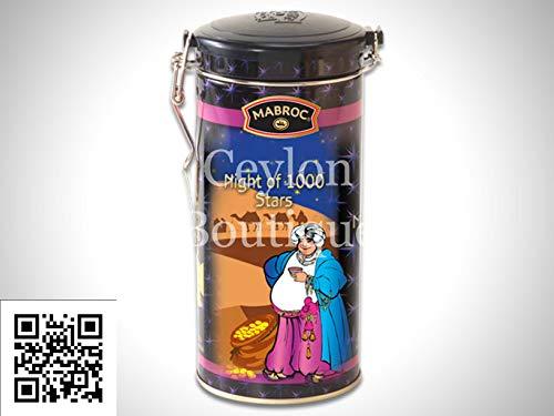Pure Ceylon Tea - Mabroc 1001 Nights Blended Tea in a Canister (Blended Ceylon Teas Tea)