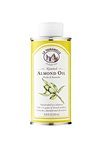 - La Tourangelle Roasted Almond Oil 8.45 Fl. Oz, All-Natural, Artisanal, Great for Salads, Grilled Fish and Meat, or Pasta