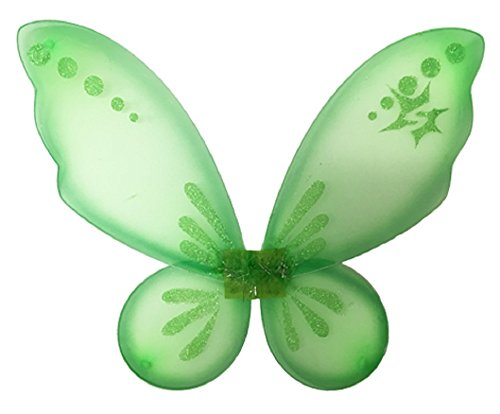 [Fairy Princess Pixie Wings (Lime Green)] (Run Disney Princess Costumes)