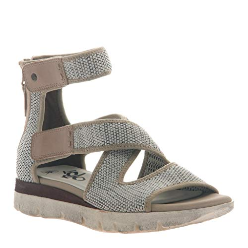 - OTBT Women's Circuit Flat Sandals - Bone - 8 M US