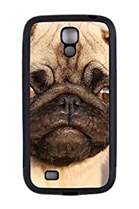 Generic Custom Picture Pug Phone Case Personalized Rubber Snap On Skin Cover Back Case For Samsung Galaxy S4 I9500