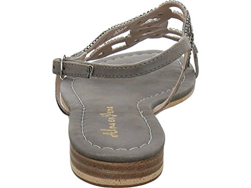 en Fashion Pena Sandals Grey Women's Alma S1B6w