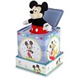 Disney Baby Mickey Mouse Jack-in-the-Box, 6.5""
