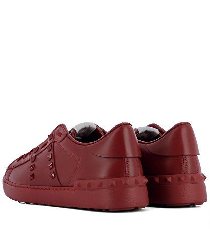 VALENTINO GARAVANI Sneakers Uomo PY2S0931MZD0R0 Pelle Rosso Éxito De Ventas En Línea Ubicaciones De Los Centros Para La Venta Extremadamente V19JQ