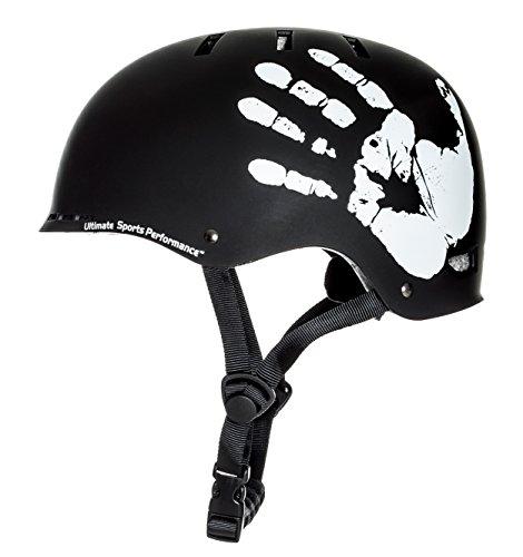 Sport-DirectTM-BMX-Skate-The-Hand-Black-Bicycle-Cycle-Helmet-57-59cm-CE-EN1078-TUV-Approvals