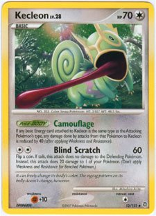 - Pokemon Kecleon - Diamond & Pearl Secret Wonders - 52 [Toy]