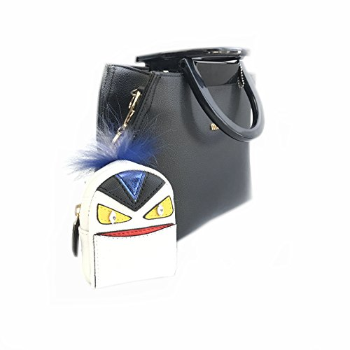 Price comparison product image Monster Keychain Mini Coin Purse Keyring Handbag Bag Charm Keyring PU Backpack