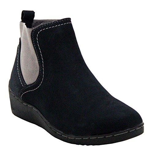 Natrelle ,  Mädchen Chelsea Boots Schwarz