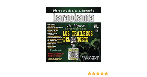 Amazon.com: Karaokanta KAR-7115 - Los Traileros del Norte Spanish CDG: Kitchen & Dining