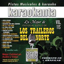Karaokanta KAR-7115 - Los Traileros del Norte Spanish CDG