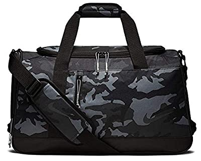 New NIKE Sport All Over Print Golf Duffel Bag, Anthracite/Black Camo BA5757-036