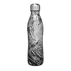 Gaiam Water Bottle Wide Mouth Stainless Steel, 18 oz or 32 oz