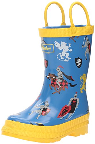 Hatley Boys' Printed Rain Boots Accessory, Medieval Knights, 6 US Child