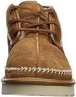 c9462fdb295 UGG Men's Neumel Stitch Chukka Boot, Chestnut, 12 Medium US: Amazon ...